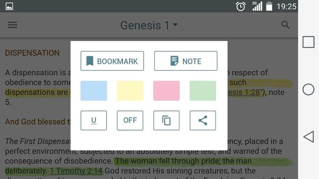 Scofield Reference Bible Notes screenshot 8