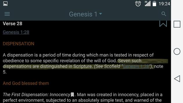 Scofield Reference Bible Notes screenshot 9