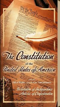 United States Constitution poster