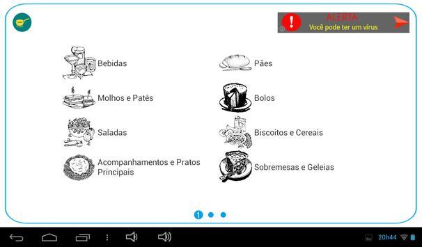 Receitas Naturais apk screenshot
