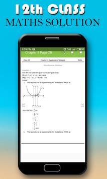 12 Maths Cbse Board Solution 2017 apk screenshot