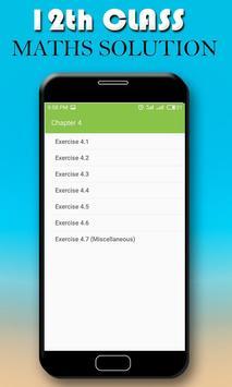 Maths 12th Class latest Solutions screenshot 1