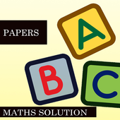 MATHS PAPER SOLUTION 12TH CLASS icon