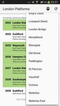 London Platforms screenshot 1