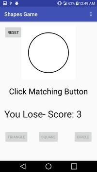 Shape Game apk screenshot