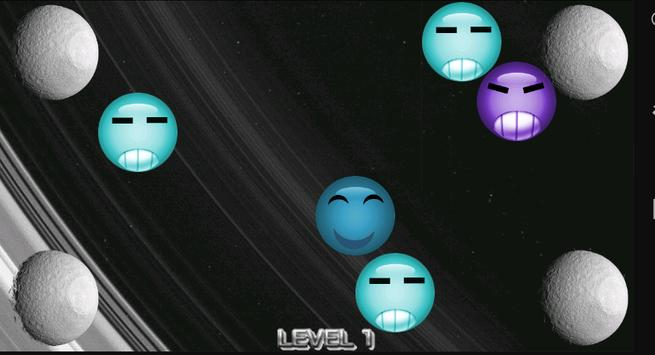 Bubble Eater 2 - on the Moon apk screenshot