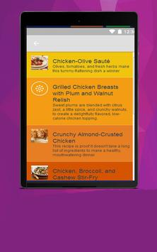 Chicken Recipes For Diet apk screenshot
