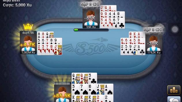 Game bai doi thuong 2017 screenshot 1