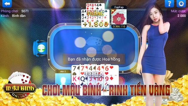 Game bai doi thuong 2017 screenshot 2
