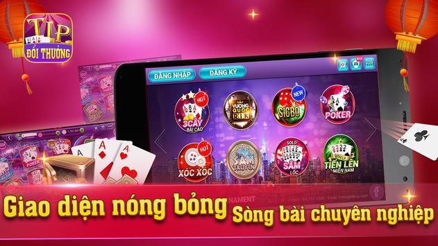 TipClub doi thuong, game bai doi thuong tip club poster