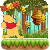 Winie Jungle The Pooh Run icon