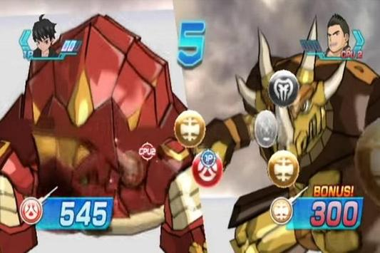 Bakugan Battle Brawlers Hint poster