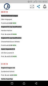 Winning Streak-Football Prediction screenshot 5