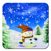 Xmas and New Year Snowman hd icon
