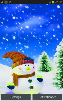 Xmas and New Year Snowman hd poster