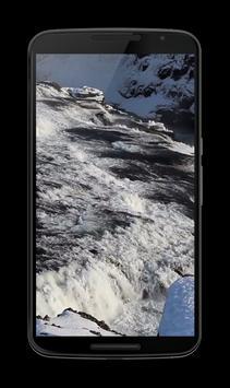 Winter Waterfall Video LWP poster