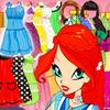 Winx Bloom Dress Up Princess Games icon