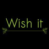 Wish it - You wish, we play it icon
