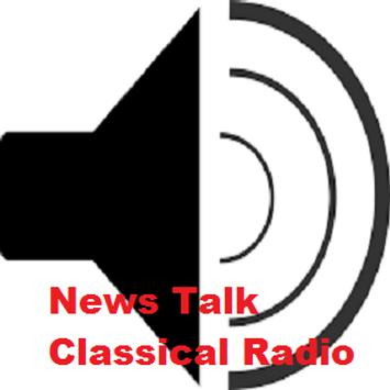 News Talk Classical Radio poster
