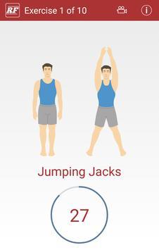 Rapid Fitness - Cardio Workout apk screenshot