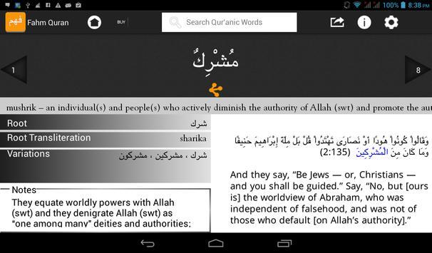 Fahm Qur'an HD apk screenshot