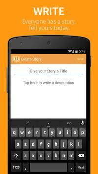 Wattpad 📖  Buku Gratis apk screenshot