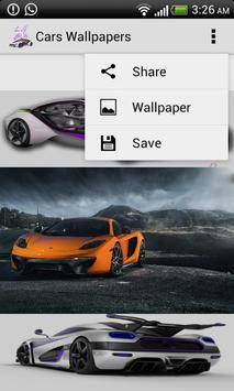 Cars Wallpapers screenshot 4