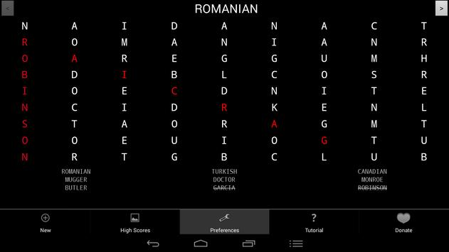 Newspaper Puzzles - Wordsearch apk screenshot