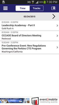 CCCAOE 2015 Spring Conference screenshot 1