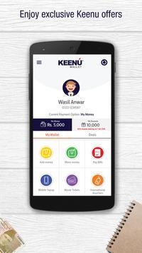 Keenu Wallet apk screenshot
