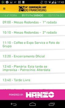 14ª Convenção ABF Franchising screenshot 1