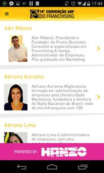 14ª Convenção ABF Franchising screenshot 2