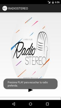 Radiostereo poster