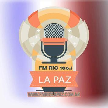 FM Río La Paz 106.1 poster