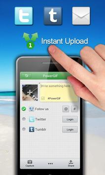 Wondershare PowerGIF apk screenshot