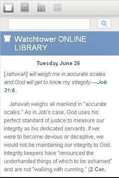 Watchtower Library 2014 apk screenshot