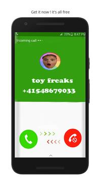 Fake Call From Toy Freaks poster