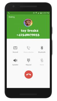 Fake Call From Toy Freaks screenshot 1