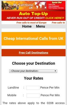 MyCallHome apk screenshot