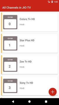 HD TV Channels apk screenshot