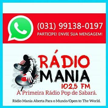 Rádio Mania Sabará BH poster