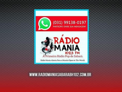 Rádio Mania Sabará BH screenshot 1