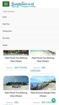Bangka Tour Travel apk screenshot