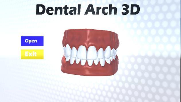 Dental Arch 3D poster