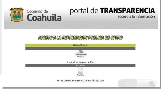 Sitai Coahuila MX - Transparencia y Acceso a Info. screenshot 5