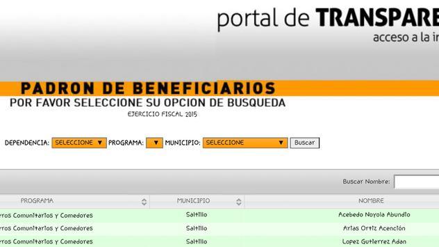 Sitai Coahuila MX - Transparencia y Acceso a Info. screenshot 6