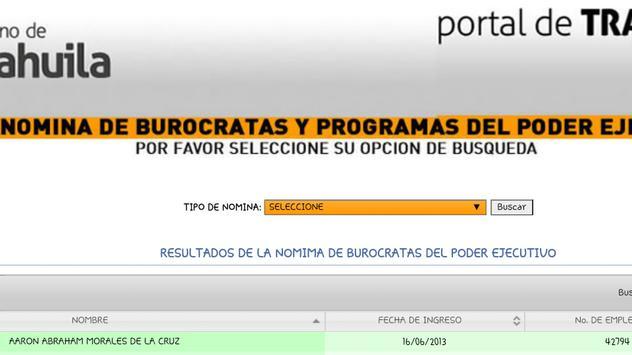 Sitai Coahuila MX - Transparencia y Acceso a Info. screenshot 7