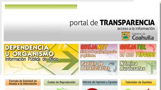 Sitai Coahuila MX - Transparencia y Acceso a Info. screenshot 9