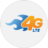 4G Only Network Mode icon