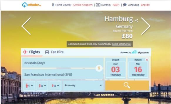eRadar.co - Airflights apk screenshot